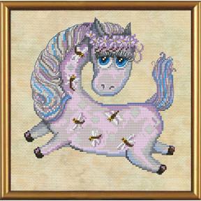 Набор для вышивания бисером и крестом Нова Слобода ННД-4031 Лошадка