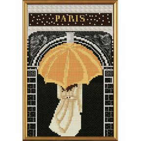 Набор для вышивания бисером и крестом Нова Слобода ННД-5536 Париж в иллюстрациях.Триумфальная арка