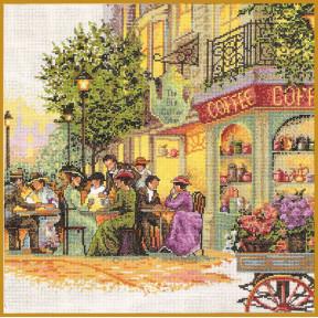 Набор для вышивания крестом Classic Design Старое кафе 4363