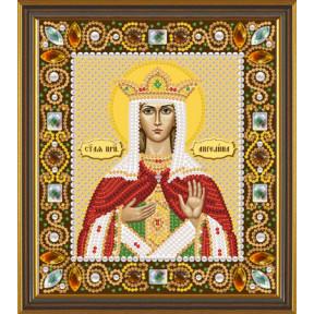 Набор для вышивания бисером Нова Слобода Д-6144 Св. Прмц. Ангелина