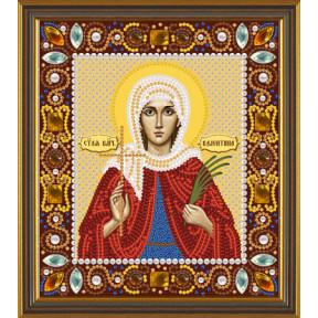 Набор для вышивания бисером Нова Слобода Д-6145 Св. Мц. Валентина