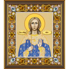 Набор для вышивания бисером Нова Слобода Д-6147 Св. Мц. Вера