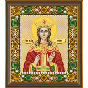 Набор для вышивания бисером Нова Слобода Д-6155 Св. Вмц. Ирина