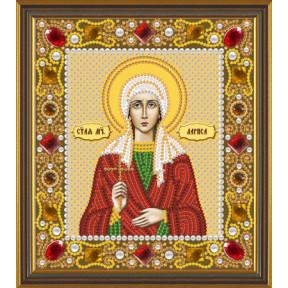 Набор для вышивания бисером Нова Слобода Д-6157 Св. Мц. Лариса