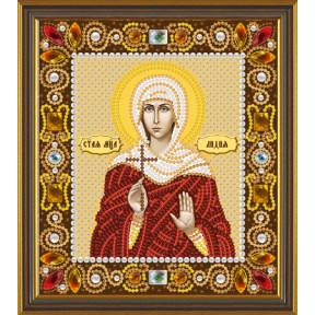 Набор для вышивания Нова Слобода Д-6158 Св. Мц. Лидия