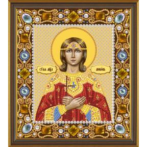 Набор для вышивания бисером Нова Слобода Д-6159 Св. Мц. Любовь