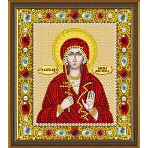 Набор для вышивания бисером Нова Слобода Д-6161 Св. Прп. Марина (Маргарита) Берийская