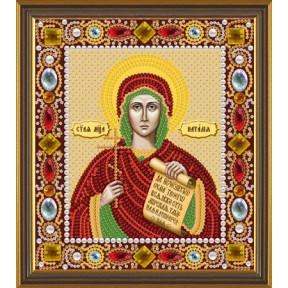 Набор для вышивания бисером Нова Слобода Д-6165 Св. Мц. Наталия