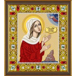Набор для вышивания бисером Нова Слобода Д-6168 Св. Прп. Светлана (Фотина)