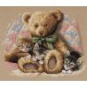 Набор для вышивания крестом Dimensions 35236 Teddy & Kittens
