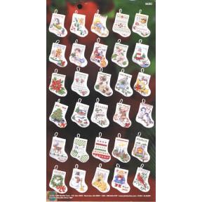 Набор для вышивания Bucilla 84293 Tiny Stocking's ornaments