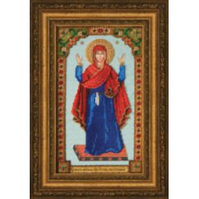 Набор для вышивания Чарівна Мить Б-1228 Икона Божьей Матери