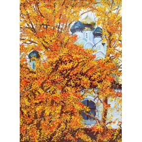 "НКП-2-005 Набор для вышивания бисером Марічка ""Осенний храм"""