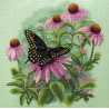 Набор для вышивания Dimensions 35249 Butterfly & Daisies фото