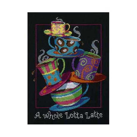 Набор для вышивания Dimensions 35218 A Whole Lotta Latte фото