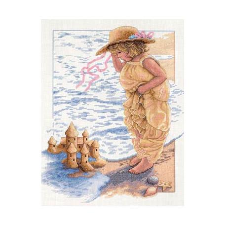 Набор для вышивания Dimensions 13730 Sandcastle Dreams фото