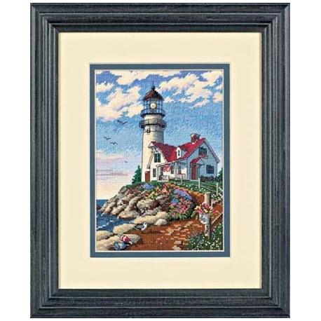 Набор для вышивания Dimensions 06958 Beacon at Rocky Point фото