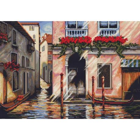 Набор для вышивки крестом Luca-S Утро в Венеции B260 фото