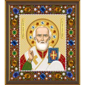 Набор для вышивания бисером Нова Слобода Д-6026 Св.Николай Чудотворец