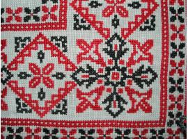 История происхождения вышивки крестиком