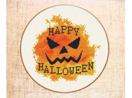 Вышивка на Хеллоуин