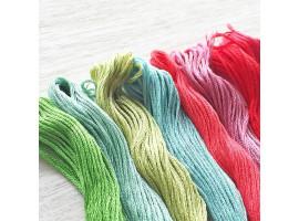 Как выбрать нитки для вышивания крестиком?