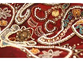 Как ухаживать за одеждой, украшенной бисером?